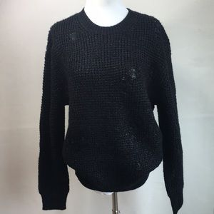 NWT ALLSAINTS oversized fit sweater Sz S